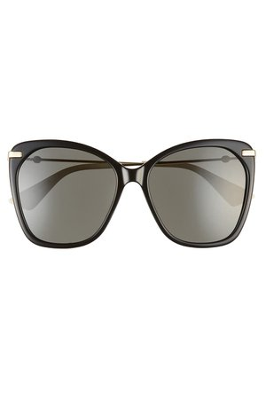 GUCCI | 56mm Butterfly Sunglasses | Nordstrom Rack