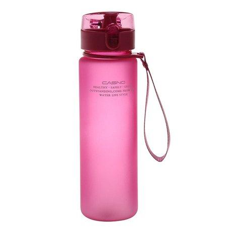 560ml gourde en plastique sport water bottle gym bottle garrafa vasos de plastico con tapa y pajita bpa free gourde isotherme-in Water Bottles from Home & Garden on Aliexpress.com | Alibaba Group