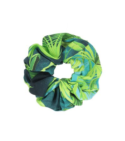 Jungle-Print Scrunchie - Versace