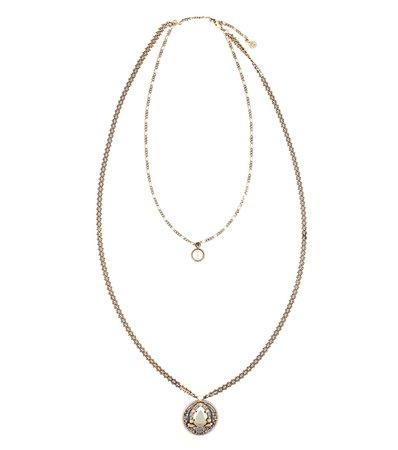 Embellished Necklace - Alexander McQueen | Mytheresa