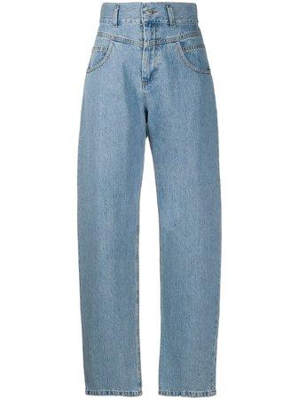 Forte Dei Marmi Couture high-rise Straight Leg Jeans - Farfetch