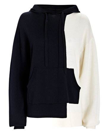 Monse Color Block Hooded Sweater | INTERMIX®