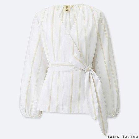 Women's Cache Coeur Long-sleeve Blouse (hana Tajima)