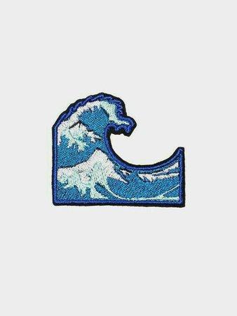 blue filler wave ocean aesthetic png