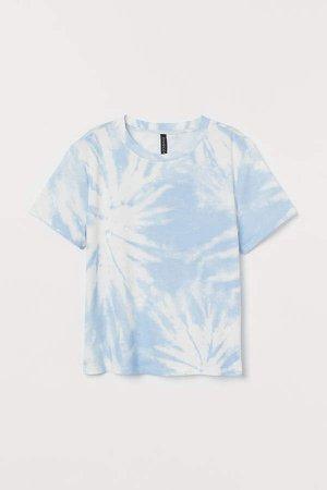 Cotton T-shirt - Blue