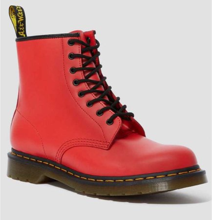 Red boot Doc Martin