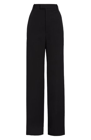 Bottega Veneta Fluid Wool Gabardine Wide Leg Pants | Nordstrom