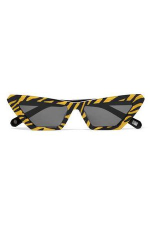 CHIMI | Tiger printed cat-eye acetate sunglasses | NET-A-PORTER.COM