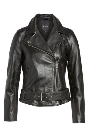 Madewell Ultimate Leather Jacket | Nordstrom