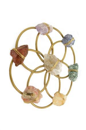 Chakra Balancing Flower of Life Healing Crystal Grid – Ariana Ost