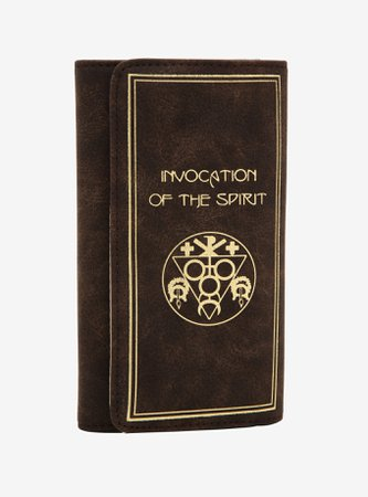 The Craft Invocation Of The Spirit Book Wallet