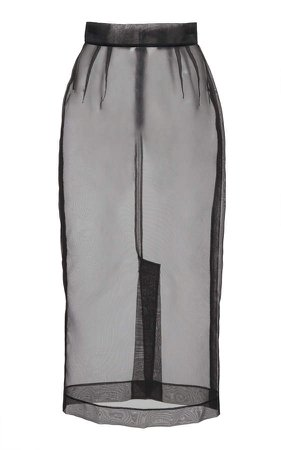 Dolce & Gabbana Sheer Tulle Skirt