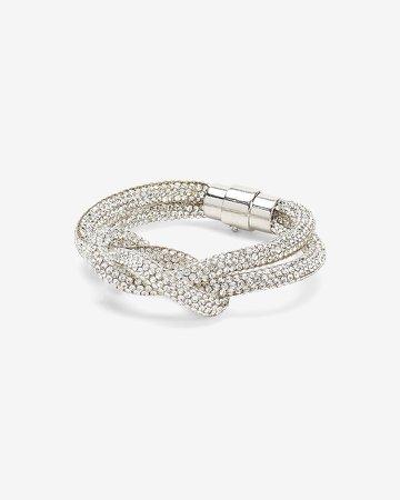 Embellished Knot Bracelet