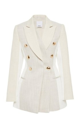 Kings Double-Breasted Cotton-Twill Blazer By Acler | Moda Operandi