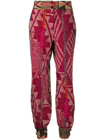 F.R.S For Restless Sleepers Geometric Print Balloon Leg Trousers - Farfetch