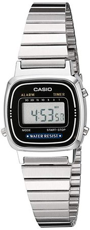 Casio LA670WA-1 Daily Alarm Digital Watch