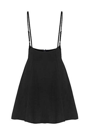 YOINS Women's Suspender Skirts Basic High Waist Versatile Flared Skater Skirt at Amazon Women's Clothing store: