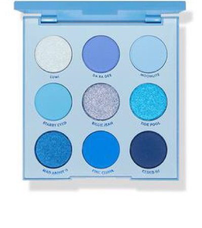 colourpop blue moon eyeshadow palette