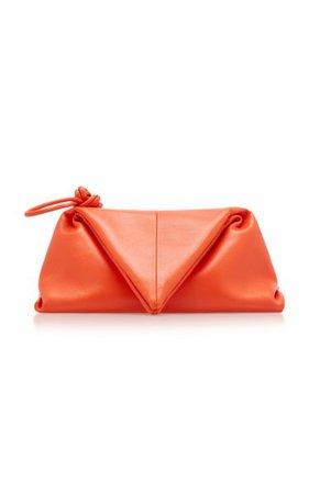 The Trine Leather Clutch By Bottega Veneta | Moda Operandi