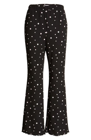 BP. Floral Print Flare Pants | Nordstrom