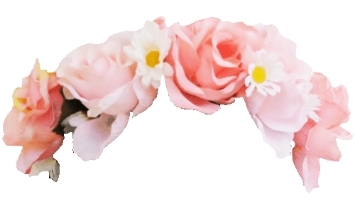 Rose Flower Crown Snapchat Filter transparent PNG - StickPNG
