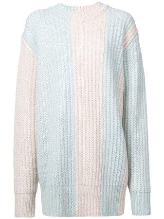 Calvin Klein 205W39Nyc Knitted Sweater Aw18 | Farfetch.com