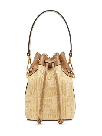 Fendi Mini Mon Tresor Bucket Bag - Farfetch