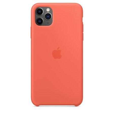Coque en silicone pour iPhone11Pro Max - Clémentine (Orange) - Apple (FR)