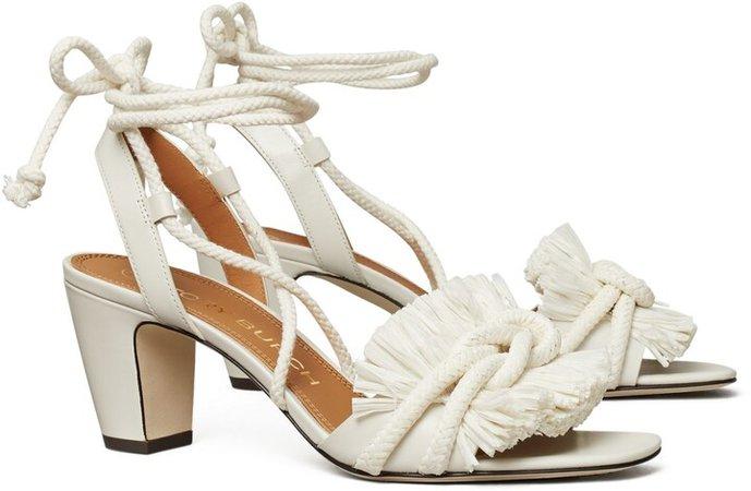 Rope Heeled Sandal
