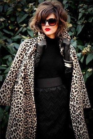 leather and leopard fashion - Google Search