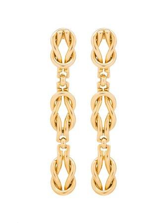 Brinker & Eliza Love Drop Earrings | Farfetch.com