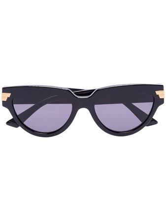 Bottega Veneta Eyewear Cat eye-frame Sunglasses - Farfetch