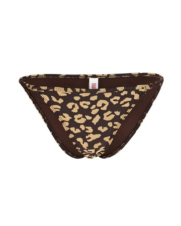 Solid & Striped Lulu Leopard Bikini Bottoms | INTERMIX®