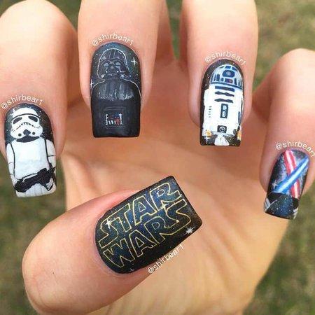 Star Wars Nails