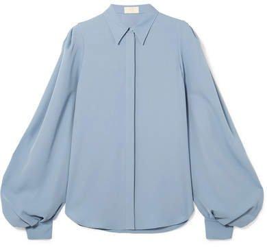 Crepe Shirt - Blue