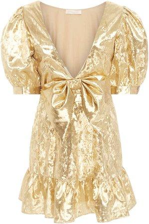 Gabriella Puff Sleeve Mini Dress