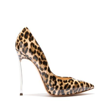 Casadei Women's Designer and Luxury Pumps| Casadei - Blade Jungle Love