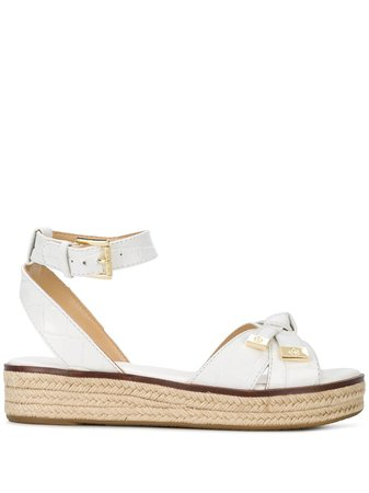 Michael Michael Kors Quilted Leather Sandals - Farfetch