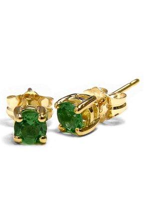 Jane Basch Emerald Birthstone Earrings | Nordstrom