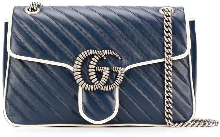 medium GG Marmont quilted shoulder bag