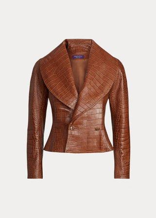 Ralph Lauren, Breanna Leather Jacket