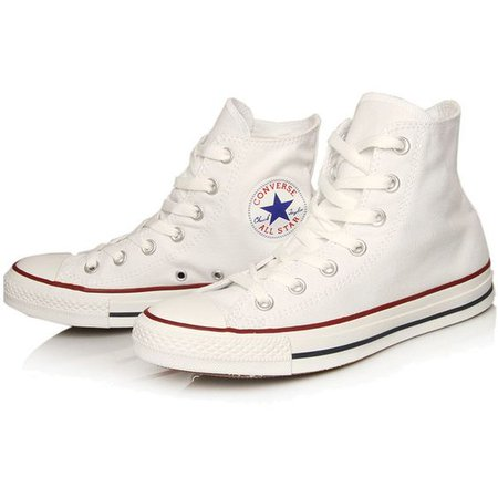 Converse White Chuck Taylor All Star Hi Top Trainers