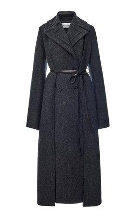 Paneled Wool Coat by Valentino | Moda Operandi