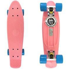 (1) 22'  Skateboard Retro Style, Pink
