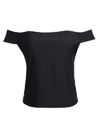 Buy Black Crop Top In The Style Of Dark Sandy in Grease at Anarchicfashion.com for only $18.00