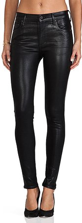 Rocket High Rise Coated Skinny. - size 24 (also