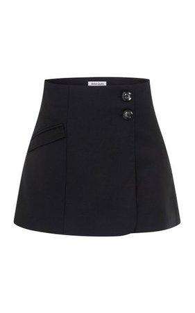 Jenna Wool Mini Skirt By Anna Quan | Moda Operandi