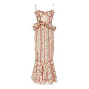 Ophelie Floral Taffeta Dress by Brock Collection