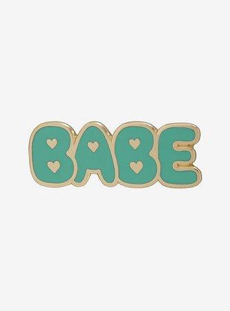 Babe Alert Enamel Pin