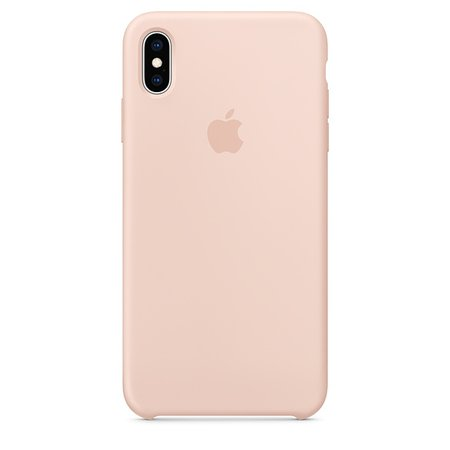 Coque en silicone pour iPhone XS Max - Gris lavande - Apple (FR)
